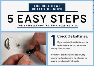 five easy steps for troubleshooting your hearing aids