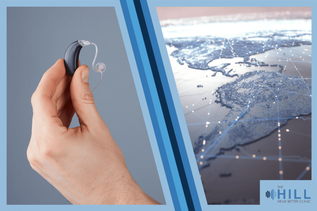 Your hearing aid may be tracking you! And why that's a good thing